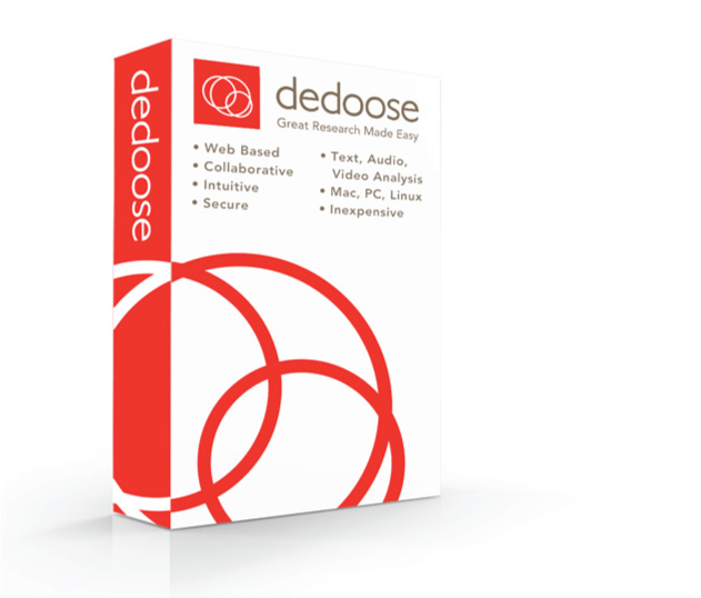 Try Dedoose Free, Today!  (Box Art)